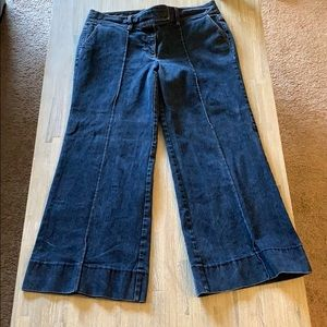 Loft flare jeans